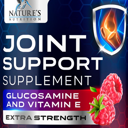 Joint Supplement Gummies Design needed for Nature's Nutrition