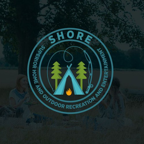 SHORE Retail Logo Design