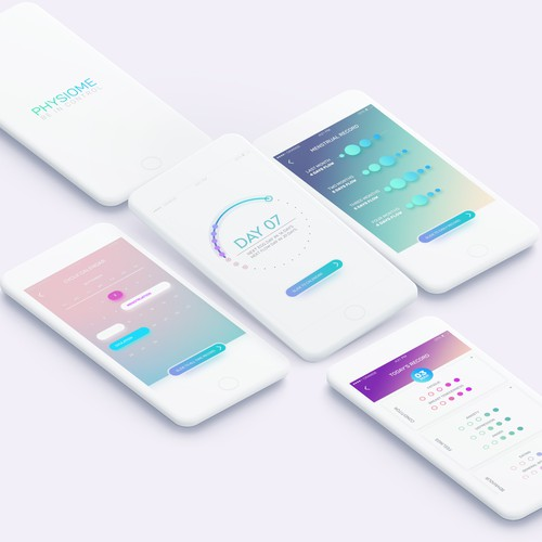 Ui/UX for a menstrual cycle app