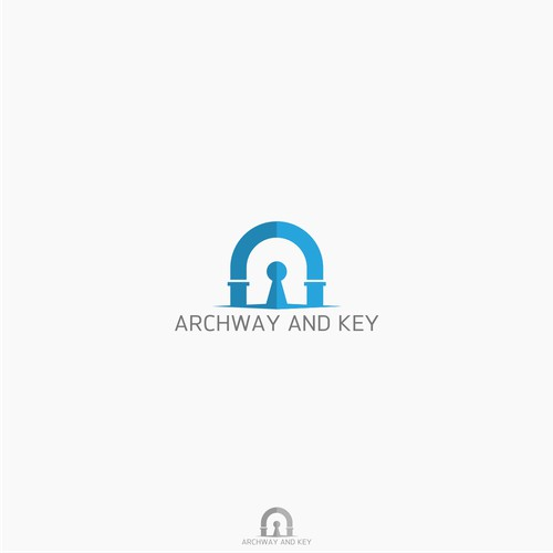 archway and key