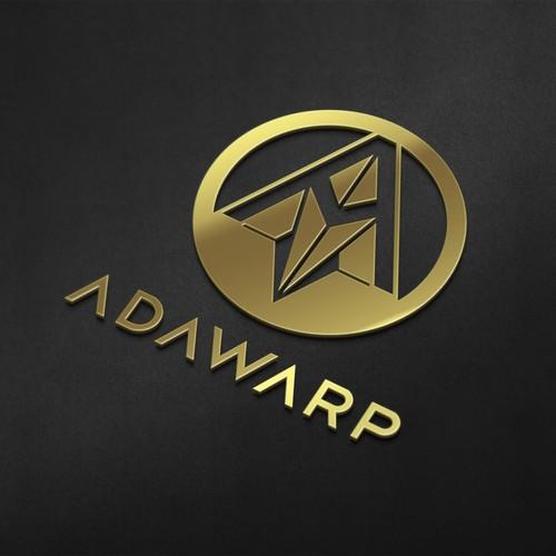 """A"" - ADAWARP logo design"