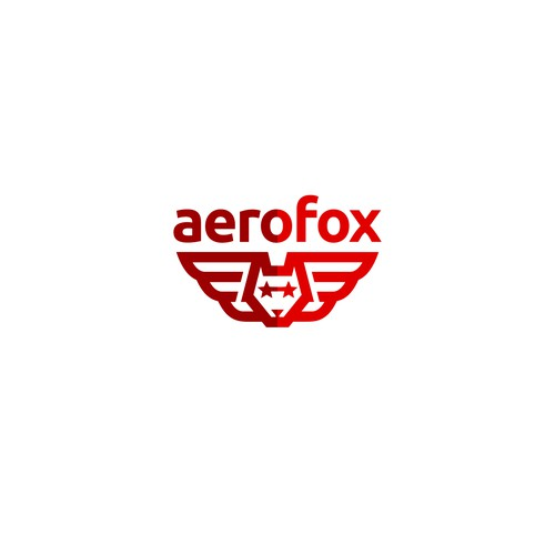 Logo concept for aerofox