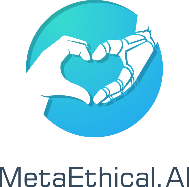 Help save the world from amoral AI with an AI ethics logo