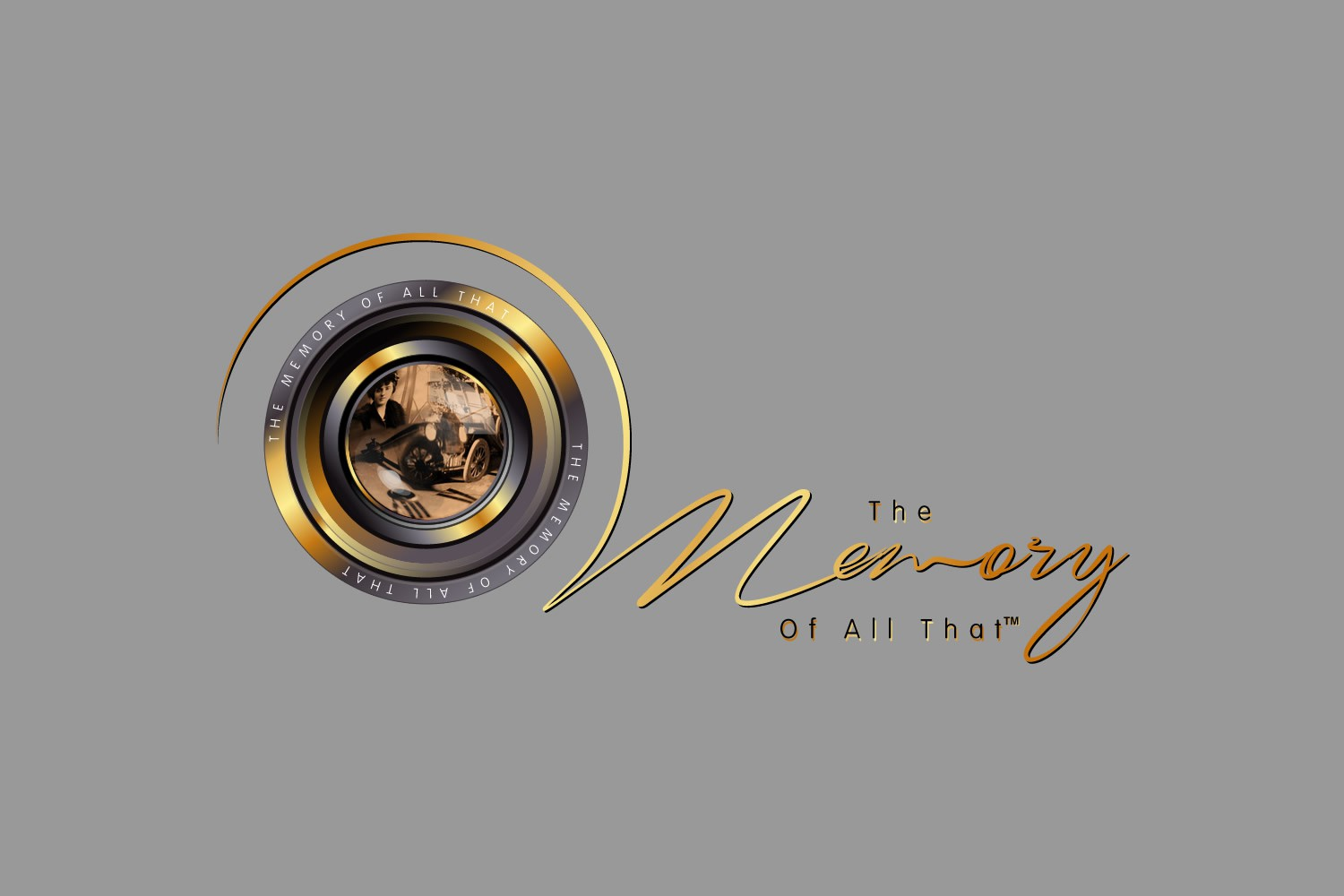 """create a vintage or combination vintage/modern logo for """"The Memory Of All That"""""""