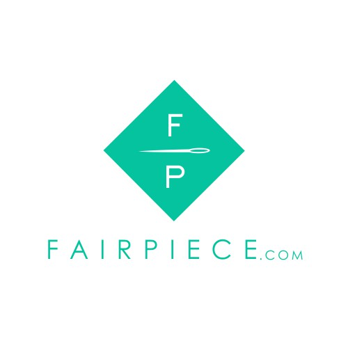 Logo-Design for FairPiece.com - the crowdfunding fashion brand