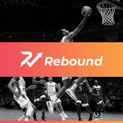 Rebound logo Brand Project