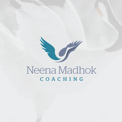 Uplifting logo for life coach