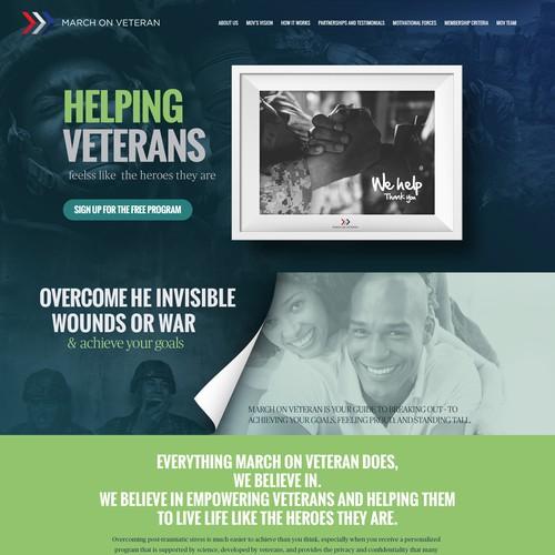 motivational website for military veterans