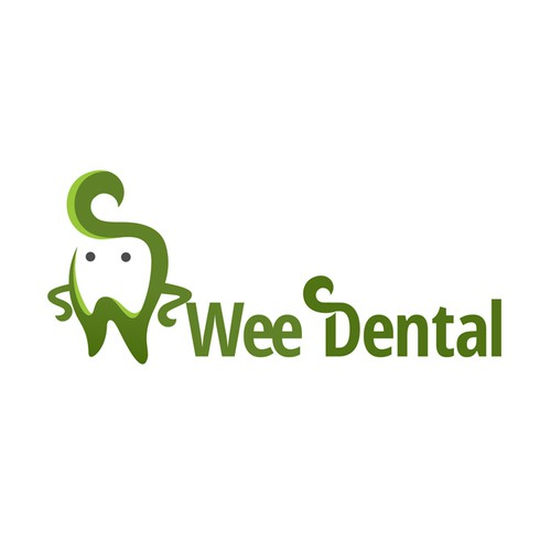 Wee Dental Logo with Cool Tooth Illustration