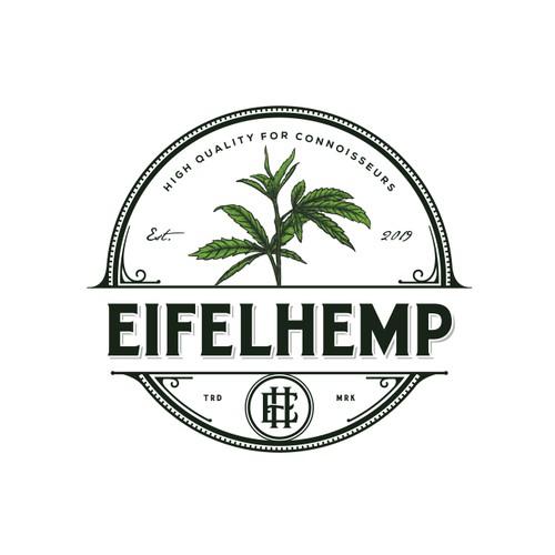 vintage logo for eifelhemp