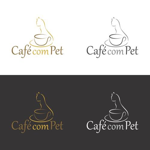 Conceito de Logotipo para Cafeteria