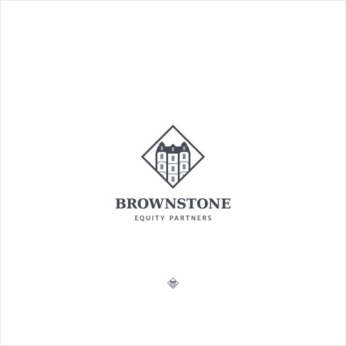 Logo design for Brownstone Equity Partners