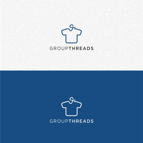 GroupThreads Logo Design
