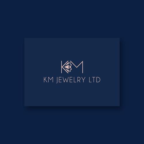 KM Jewelry Logo