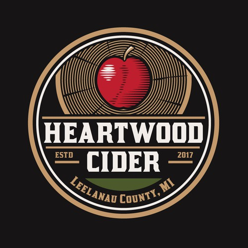 Logo for cider producer