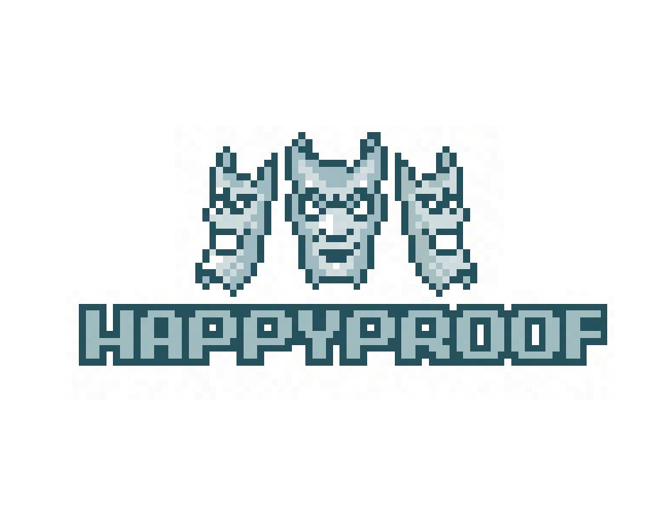 Create a logo for Happyproof