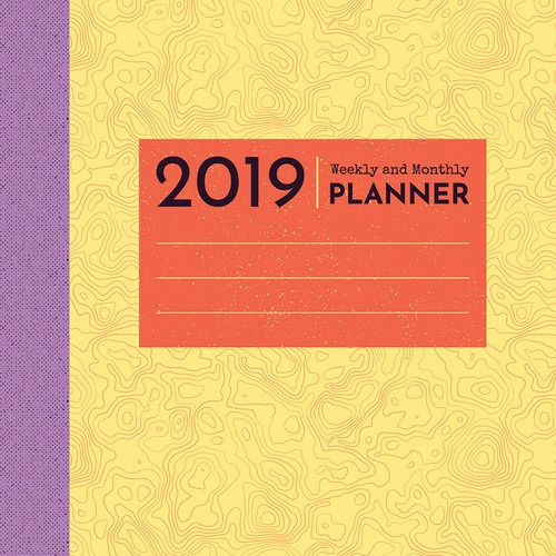 Weekly and Monthly Planner Cover