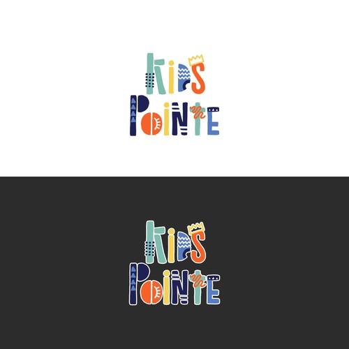 Fun logo for kids gym!