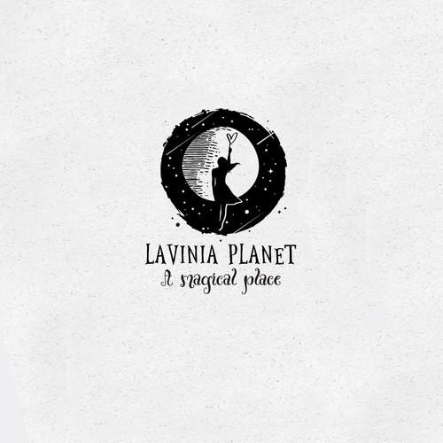 LAVINIA PLANET LOGO