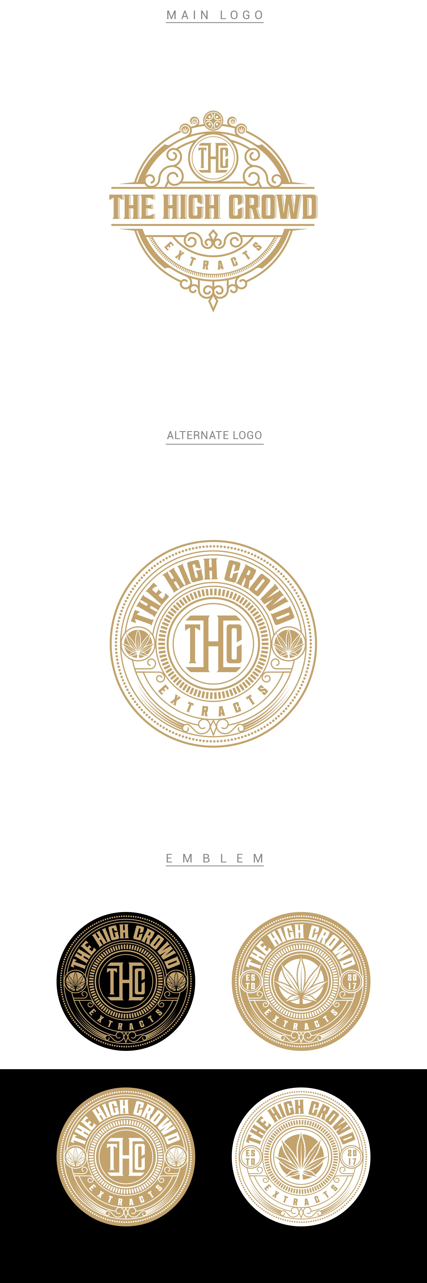 Design a Cannabis Oil Extract Logo for THE HIGH CROWD EXTRACTS; we want the best logo in the industry!