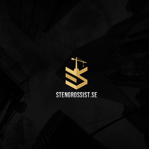 Stylish logo for architecture company