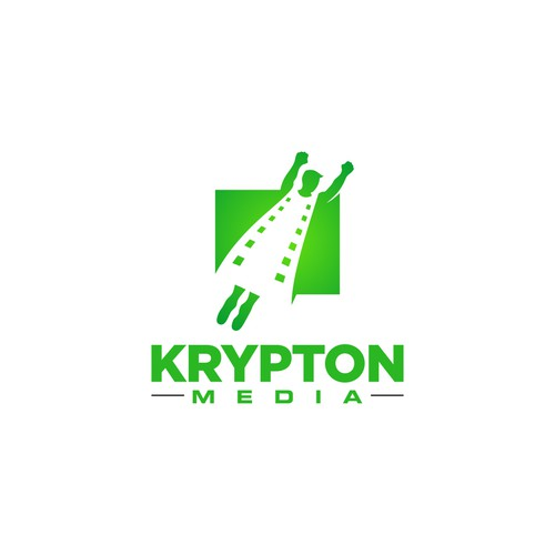 Logo for media company