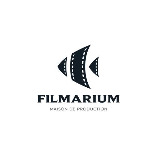 Creative logo for Filmarium