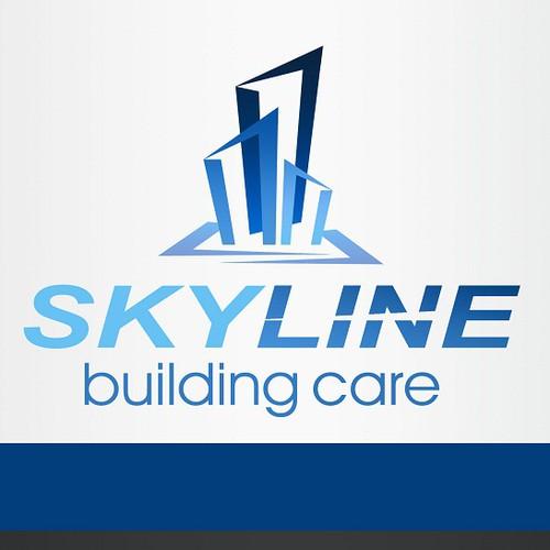 Create the next logo for Skyline Building Care