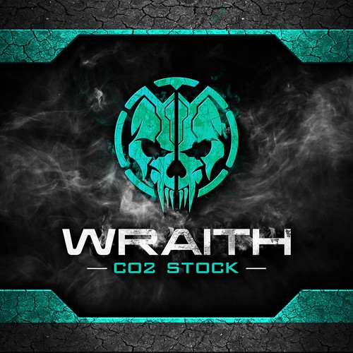 Logo design for Wraith CO2 Stock