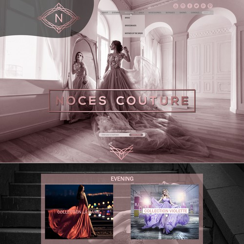Web design for the fashion industry