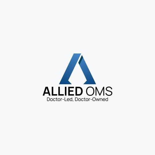 'Allied OMS' Logo Design Concept