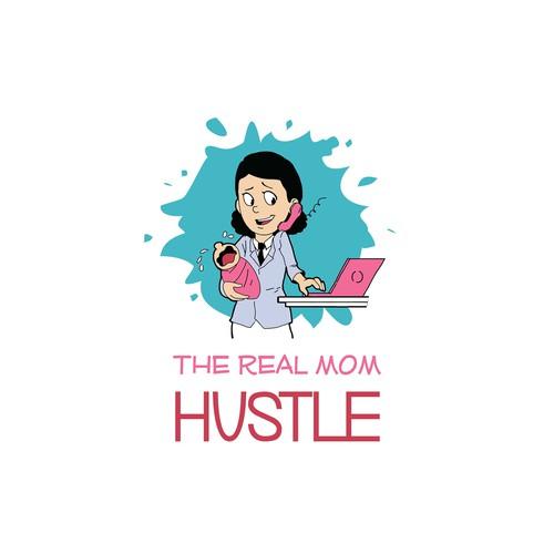 Logo for mom's blog