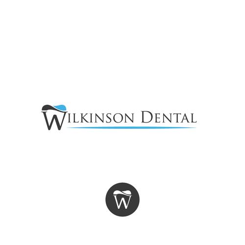 Bold logo for dentist office