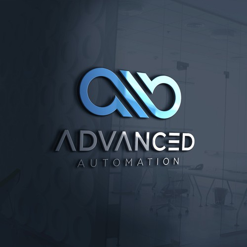 Bold logo concept for Advanced Automation.