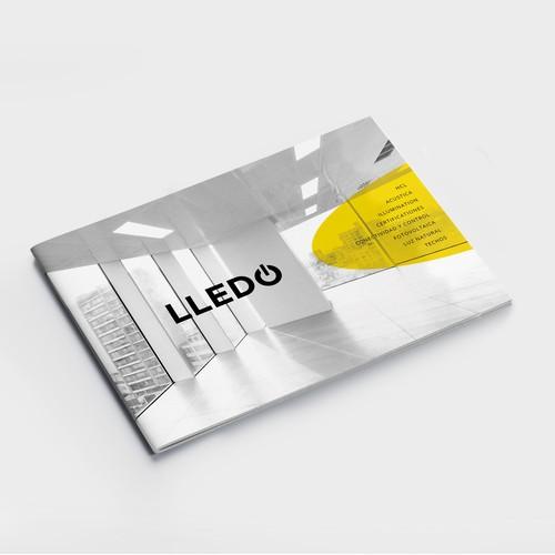 Minimalist Brochure for Lledo