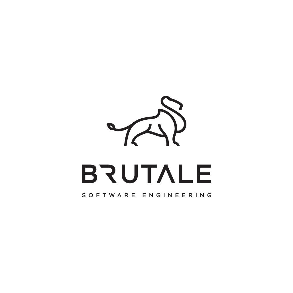 """Brutale"" logo for software engineering firm"