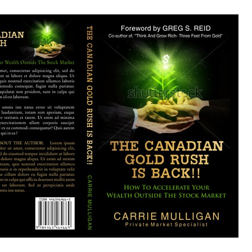Reach for the Gold- make this book cover a treasure to keep