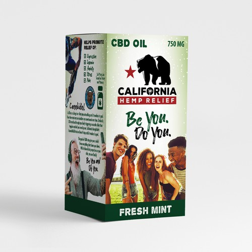 CHR CBD Oil Packaging
