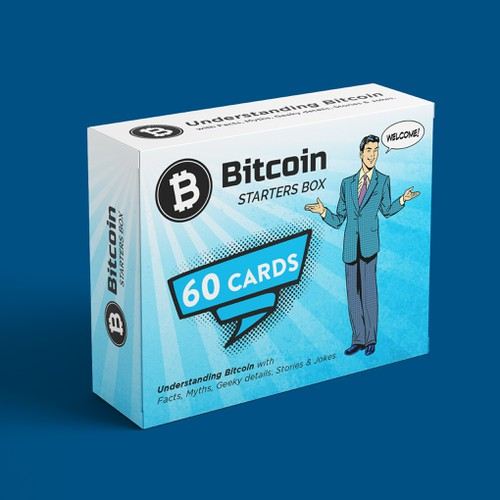Design an awesome Bitcoin Starters Box