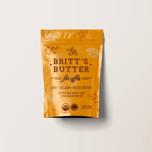 Britt's Butter package