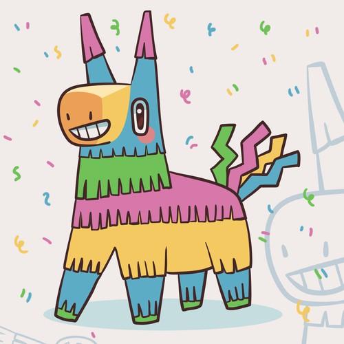 Piñata Mascot Design