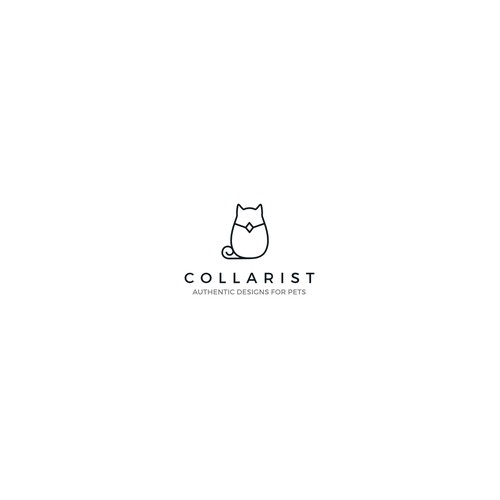 Logo for animal collars business