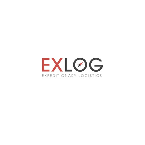 Create a compelling logo for ExLog, an expeditionary logistics company working in austere locations