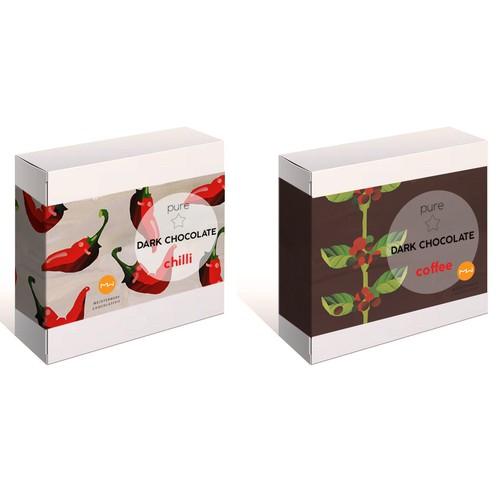 Chocolate Packing design