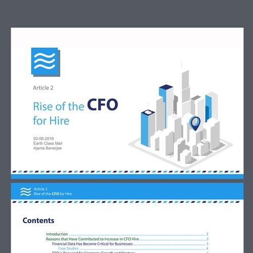 Clean pdf concept