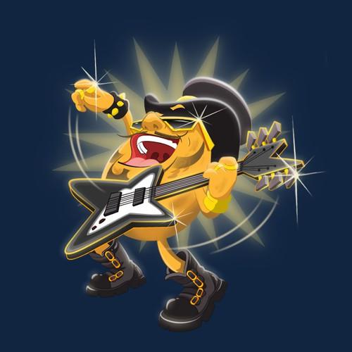 rock star potato