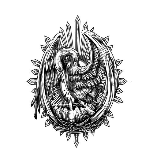 Catholic Tattoo Design