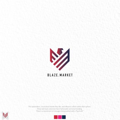 Blaze Market Logo