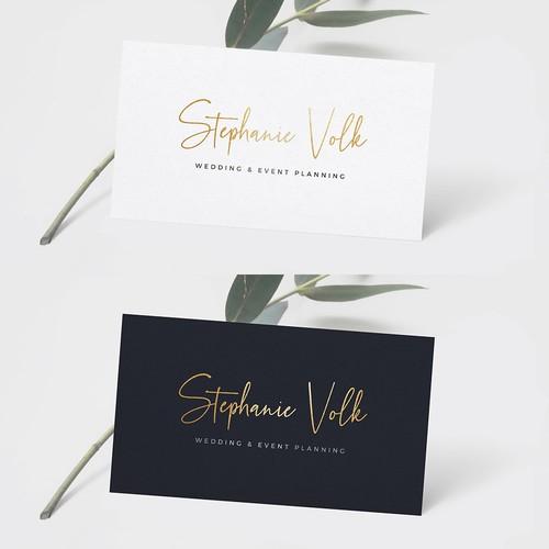 Wedding & Event Planning Logo
