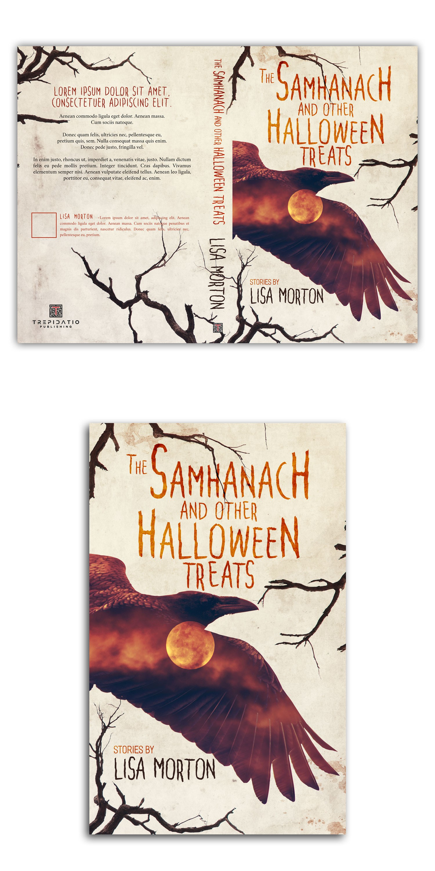 Halloween-themed Cover Needed for a Fiction Collection!